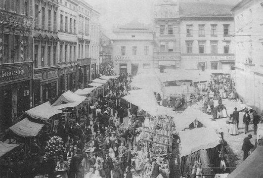 Tak wyglądały Gliwice na początku XX wieku...