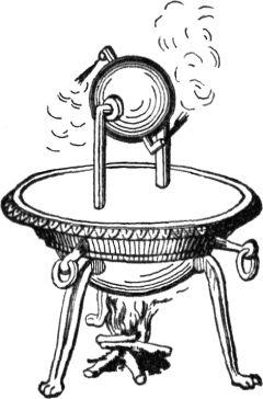 Bania Herona. Prawdopodobnie pierwsza maszyna parowa w historii
