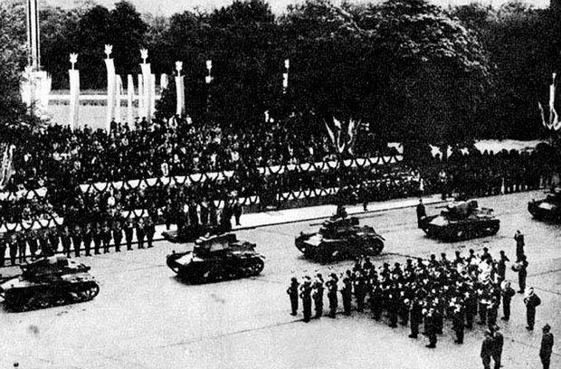 Polska defilada wojskowa w maju 1939. Ostatnia przed wybuchem wojny.