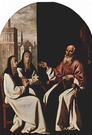 Święty Hieronim i Paula.