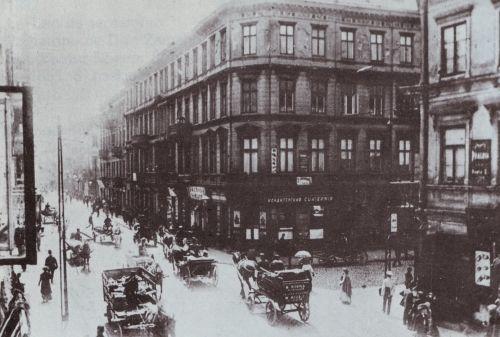 Warszawa około 1900 roku.