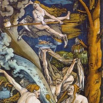 Hans Baldung Grien, Czarownice, 1508.