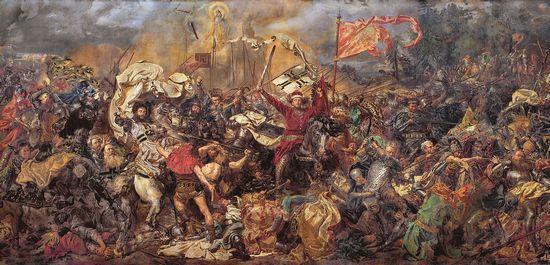 Chociaż trudno w to uwierzyć w pierwszej połowie XIX w. mało kto pamiętał o bitwie pod Grunwaldem.