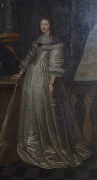 Portret Anny Oświęcim w krośnieńskiej kaplicy (fot. Silar, lic. CC ASA 3,0)