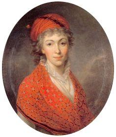 Izabela Czartoryska w sile wieku...