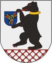 W herbie Smorgonii, leżących obecnie na Białorusi, po dziś dzień widnieje niedźwiedź