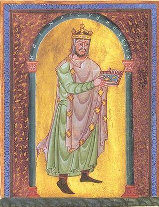 Na ołtarze wyniesiony został nawet długoletni wróg Bolesława cesarz Henryk II.