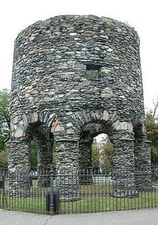 Wieża Templariuszy w Newport?