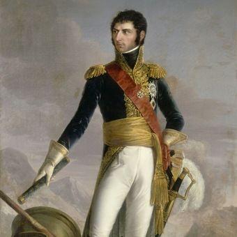 Bernadotte, jeszcze jako niespodziewający się swojej przyszłości francuski generał.