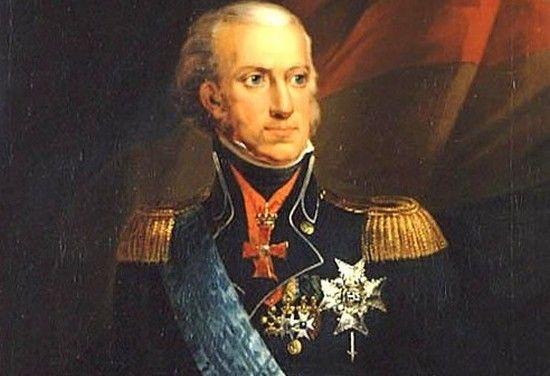 Karol XIII król Szwecji i Norwegi (tutaj panował jako Karol II). To właśnie jego następcą został Bernadotte.