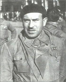 Walter Audisio, to on zastrzelił Mussoliniego. Widać nie wiedział, że Duce miał być kuloodporny.