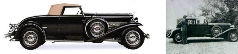 """(Fot. z lewej pochodzi z książki """"Ilustrowana Encyklopedia. Samochody"""" wydawnictwa Vesper)"""