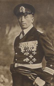 Felix von Luckner we własnej osobie.