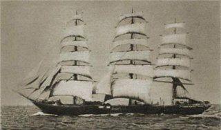 SMS Seeadler, którym dowodził Felix von Luckner.