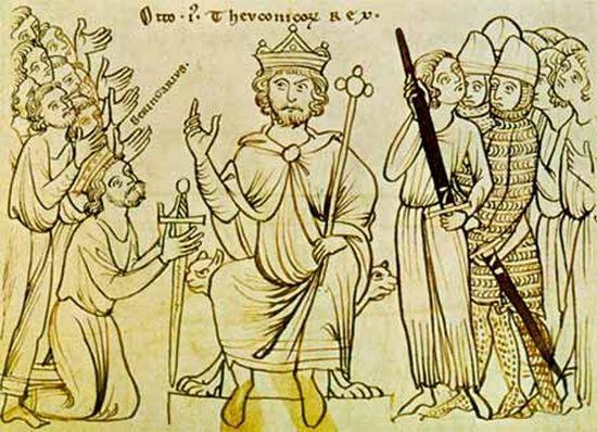 Chodzenie boso dla niemieckich władców nie było pierwszyzną. Praktykował je już Otton I.