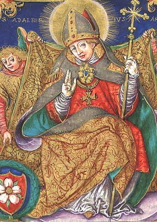 Święty Wojciech, to do jego grobu pielgrzymował Otton III.