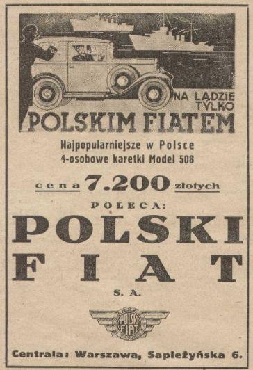 ...a tym bardziej na Polskiego Fiata!