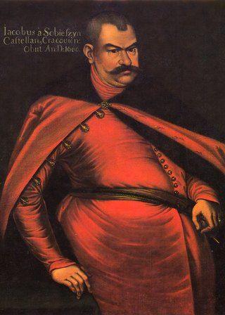 Jakub Sobieski w pełnej okazałości na portrecie z czasów, gdy był już dojrzałym mężczyzną.