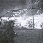 Nie sposób zliczyć ile wsi Niemcy spalili na swojej drodze... (Przykładowa ilustracja z książki