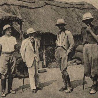 """Polscy koloniści w Angoli (fot. """"Morze"""", 1938)."""