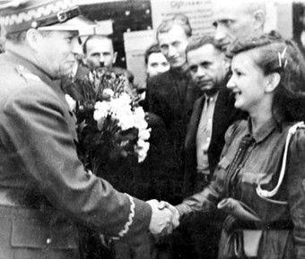 Rola-Żymierski z wizytą w Cieszynie... Przymiarki do wojny?