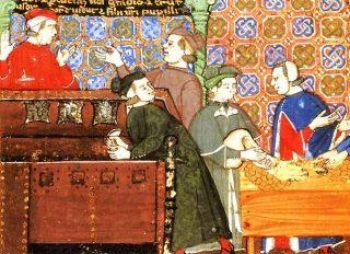 Bankowość w średniowiecznym stylu...