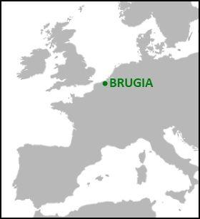 Brugia leży o... tutaj.