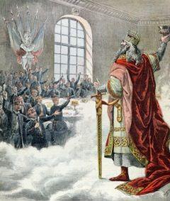 Mało kto dzisiaj pamięta, że Karol Wielki został swego czasu świętym. I że to między innymi patron uczniów!