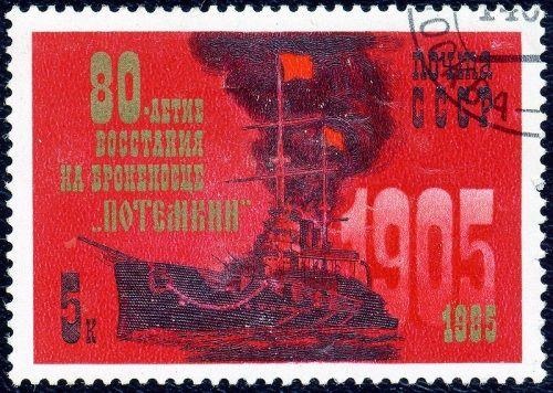 """Czerwony Potiomkin... Prawie jak """"Czerwony Październik"""", ale bez broni atomowej..."""