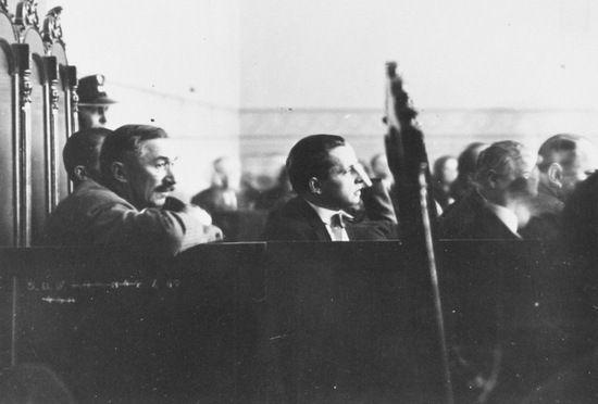 Był ofiarą nagonki… Na zdjęciu Witos podczas procesu brzeskiego.