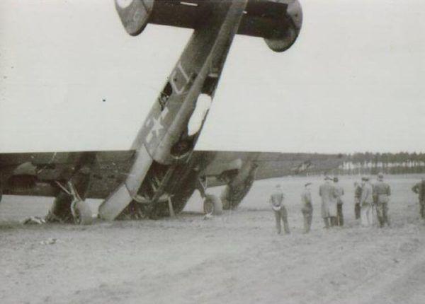 """Do tego """"wypadku"""" doszło z kolei przy okazji bombardowania Berlina... (fot. b24.net)"""