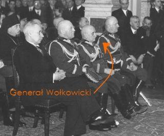 Generał Wołkowicki parę miesięcy przed wybuchem II wojny światowej...
