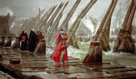 Kardynał Richelieu nie tylko walczył z dumasowskimi muszkieterami, ale również aresztował Jana Kazimierza Wazę (źródło: domena publiczna).
