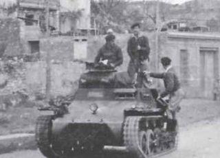 PzKpfw I Ausf A w Hiszpanii...