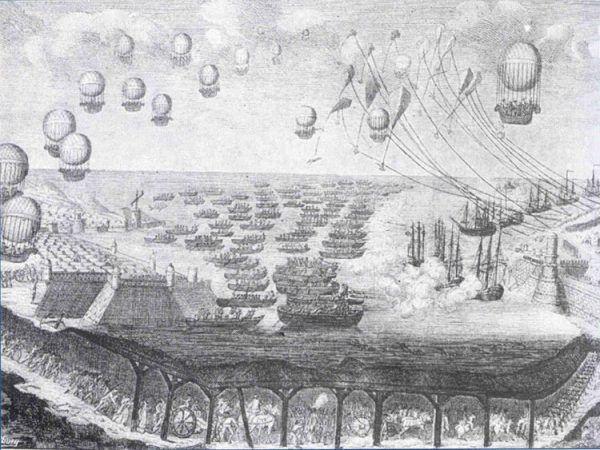 Tak miała wyglądać... balonowa inwazja na Wielką Brytanię!