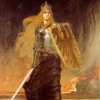 Około 1500 roku wykreowano wizerunek Germanii - uosobienia Niemiec.