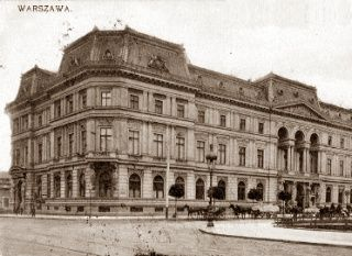 Słynny pałac Kronenberga w Warszawie.