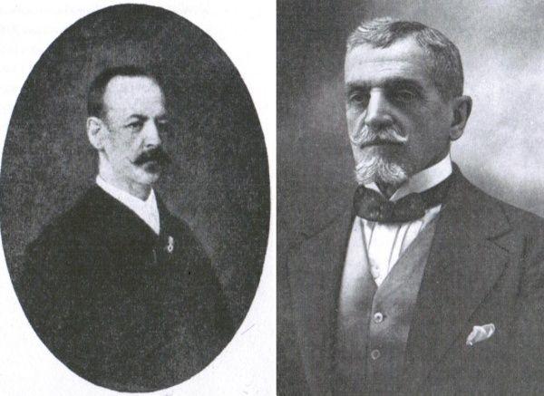 Wladyslaw Edward oraz Leopold Julian Kronenbergowie (fot. z książki: A. Żor, Kronenberg. Dzieje Fortuny, PWN 2011).