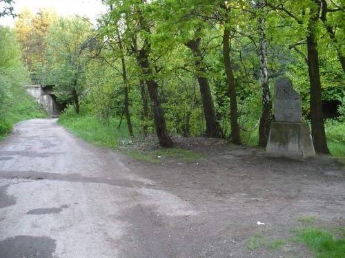 Miejsce nieudanego zamachu na Hansa Franka. Zdjęcie współczesne.