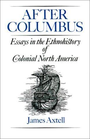 "Artykuł powstał w oparciu o książkę Jamesa Axtella pt. ""After Columbus: Essays in the Ethnohistory of Colonial North America"" (Oxford University Press, 1988)."