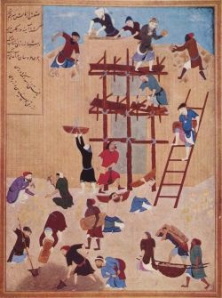 Mieszkańcy Al-Hiry budują umocniony pałac. Na niewiele im się to zdało...