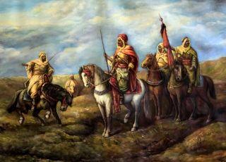Arabowie gotują się do dania lekcji niewiernym... (fot. Rarusnet.com)