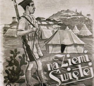 Fragment okładki jednodniówki wydanej w 1940 roku z okazji Święta Żołnierza (wszystkie fotografie pochodzą z albumu: Z. Wawer, Tobruk 1941, Bellona 2011)..