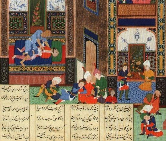 Zamordowanie Chosroesa II. Po tym skrytobójstwie Persja nie zdołała już się pozbierać...