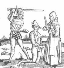 Egzekucja młodego mężczyzny. Czyżby za gwałt na niewieście?