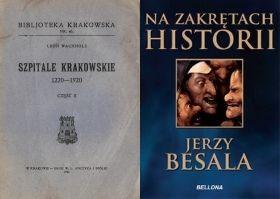 """Artykuł powstał głównie w oparciu o """"Szpitale krakowskie 1220-1920"""" Leona Wachholza oraz """"Na zakrętach historii"""" Jerzego Besali."""