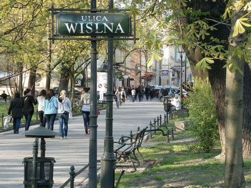 Redakcja tygodnika znajdowała się (i wciąż się znajduje) przy ulicy Wiślnej w Krakowie (fot. Franciszek Vetulani; lic. CC ASA 3,0).