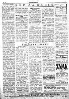 Wnętrze jednego z numerów z 1953 roku.