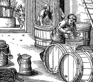 XVI-wieczna piwowarnia