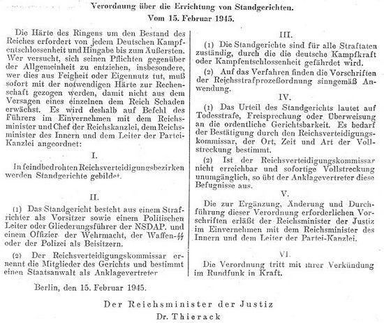 Właśnie to rozporządzenie sprawiło, że w Niemczech rozszalał się terror na niespotykaną wcześniej skalę.